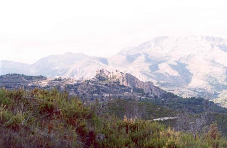 Blick in Berge